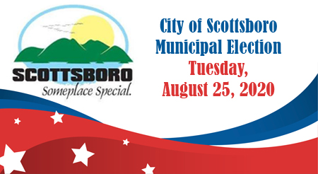 Scottsboro municipal election set for August 25