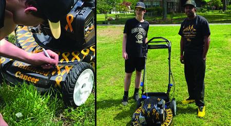 Local childhood cancer survivor represents Alabama