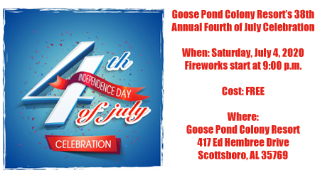Goose Pond to host 38th annual Fourth of July Celebration
