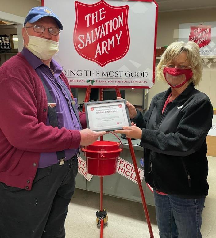 Salvation Army Honors Robbie Hollis